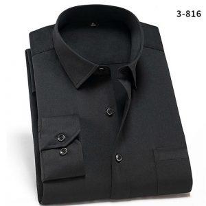 Stretch Cotton Men's Dress Shirts