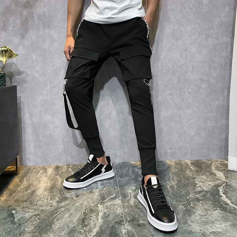Men Streetwear Pants Harem Pants