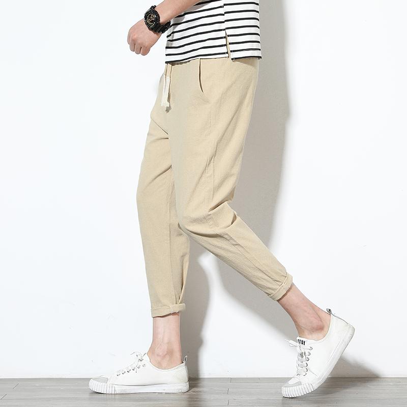Men's Harem Pants Fitness Trousers