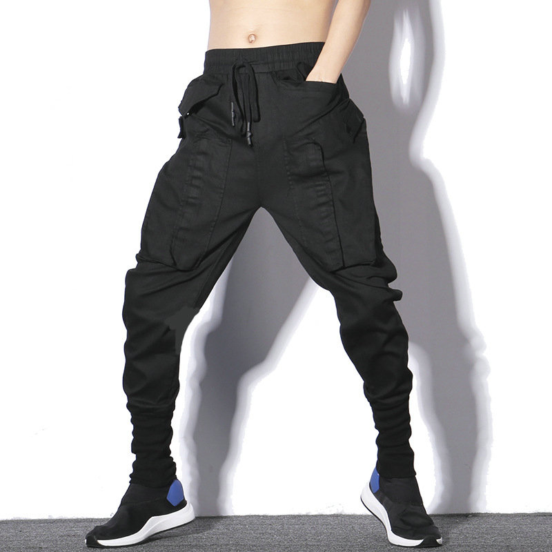Spring Jogger Pants Black Sweatpants