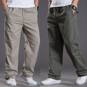 Summer Casual Pants Cotton Pants