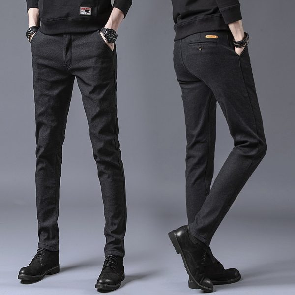 Casual Pants Slim Fit Trousers