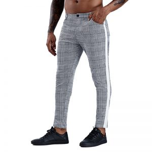 Men Trousers Skinny Chinos Pants