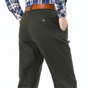 Men Pants Cotton Cargo Pants