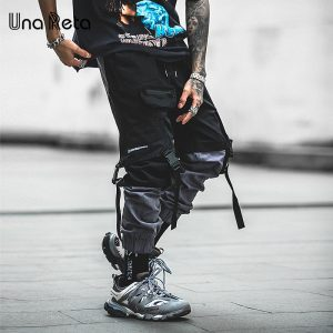 Fashion Streetwear Hip Hop Long Pants