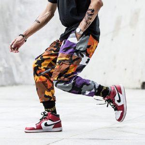 Joggers Cargo Pants Korean Trousers