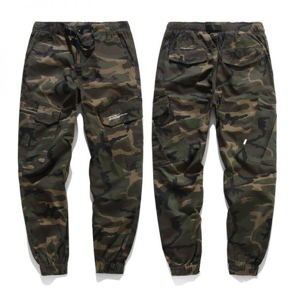 Camo Joggers Men Cargo Pants