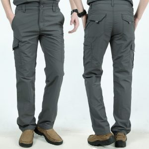 Multi Pocket Cargo Pants Tactical Trousers