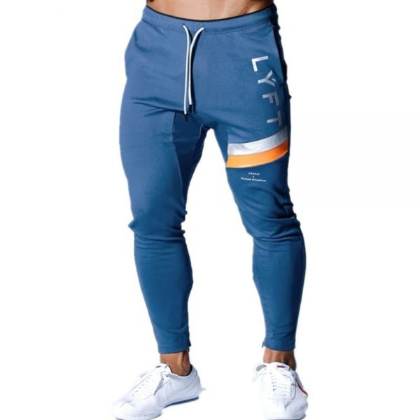 Men Casual Pants Skinny Trousers