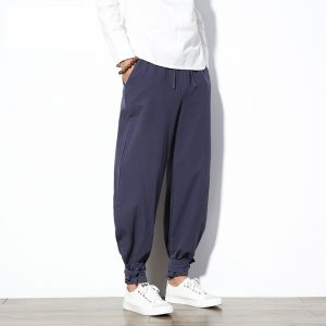 Cotton Linen Harem Pants