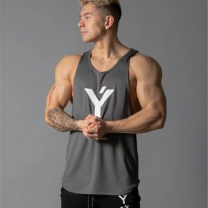 Bodybuilding Stringer Gym Sleeveless Undershirt