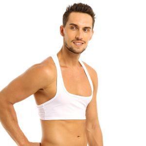Singlet Sexy Half Fitness Tank Tops