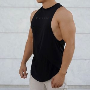 Sporty Tank Top Workout Sleeveless Shirt