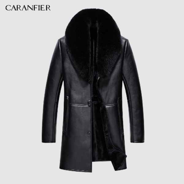 Faux Leather Jacket Thick Jacket