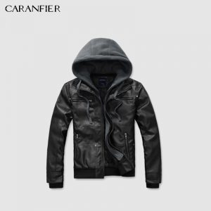 Leather Jackets Winter Warm Coats