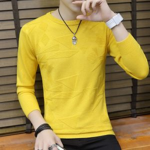Men Sweater Casual Pullover
