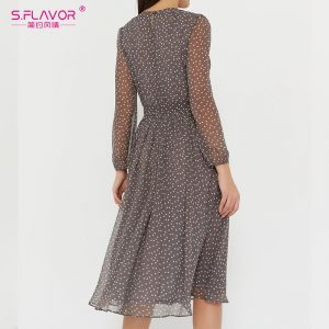 Dot Print Women Dresses