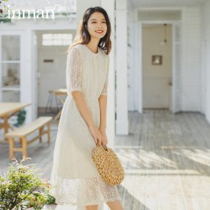 Lace Gauze Elegant Dress