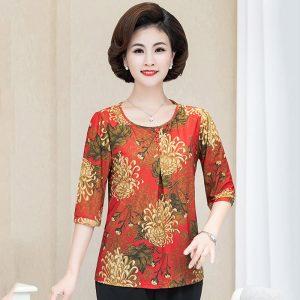 Floral Print Casual Shirt