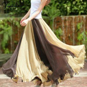 Sexy Chiffon Boho Skirts