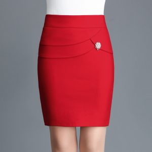 Office Women Mini Skirt