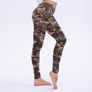 Mid Rise Camo Leggings