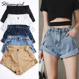 Women Short Jeans for Summer