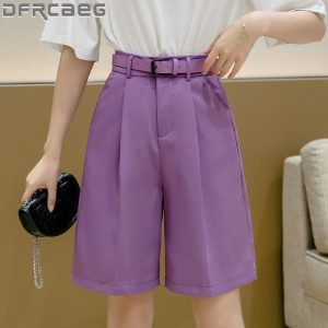 Loose Bermuda Shorts For Women