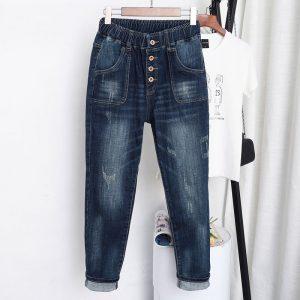 Vintage Jeans Harem Pants