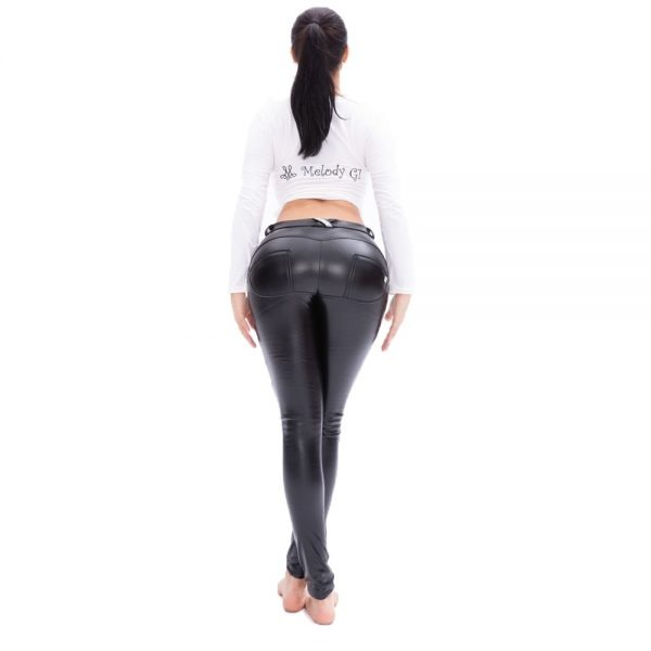 Butt Lifting Leather Pant
