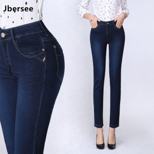 Spring Women's Straight Jeans