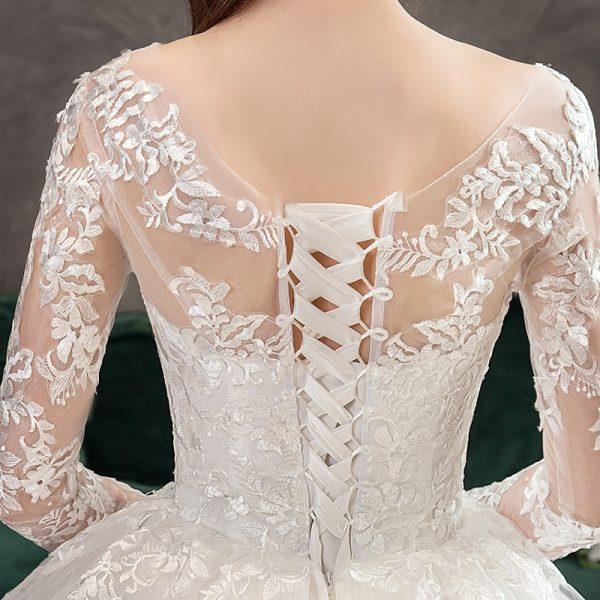 Princess Lace Wedding Dress