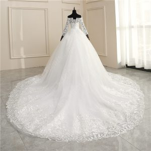 Luxury Embroidery Ball Gowns