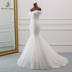 Beautiful Sequined Wedding Dress