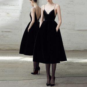 Pearl Black Prom Dresses