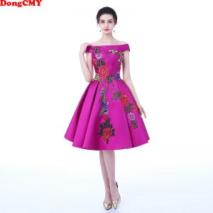Flower Party Prom Dresses