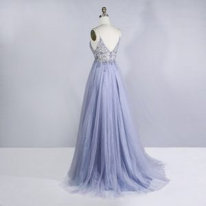 Beaded Crystal Prom Dresses