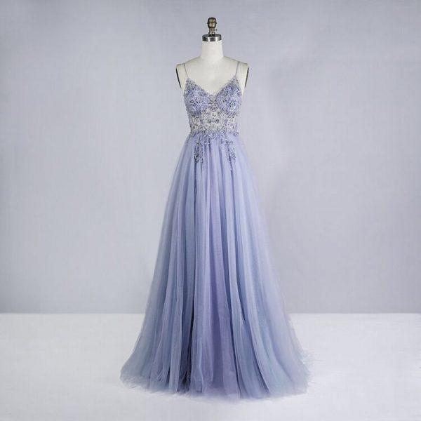 Beaded Crystal Prom Dresses