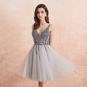 Crystal Short Cocktail Dresses
