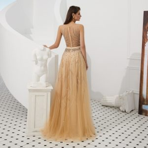 Elegant A Line Evening Dresses