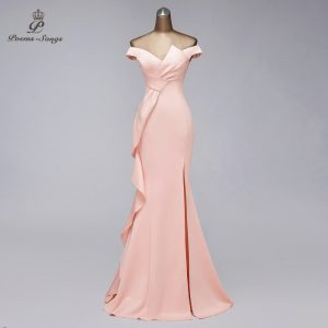 Elegant Mermaid Evening Dress