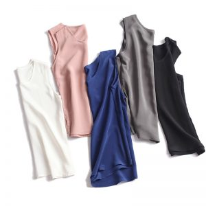 Women Silk Tank Tops
