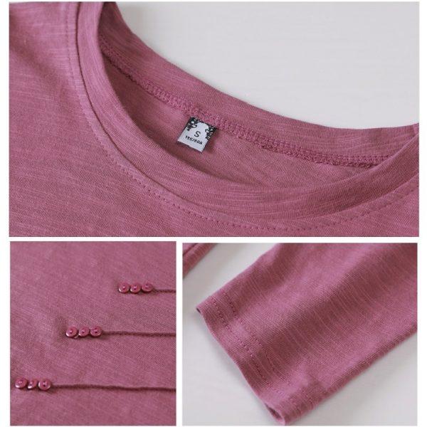 Bamboo Cotton Casual T-shirt