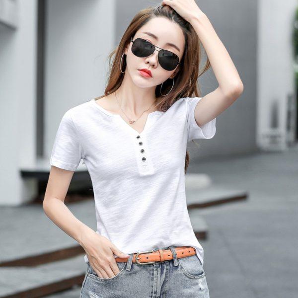Femme T Shirts Summer Tops