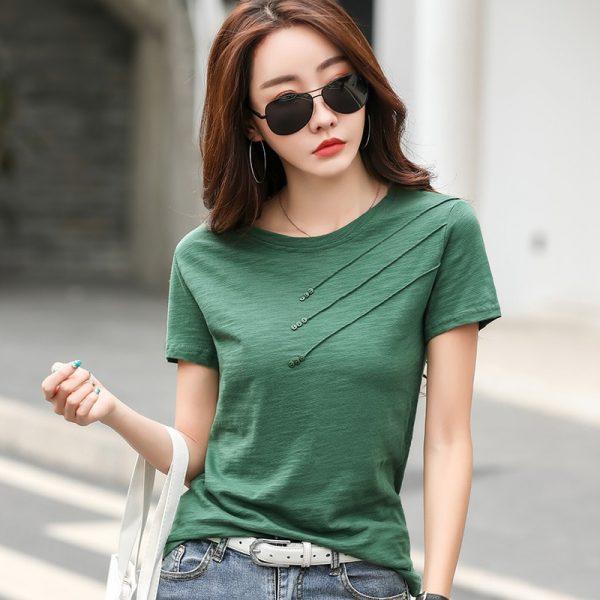 Summer Tops Woman T Shirt