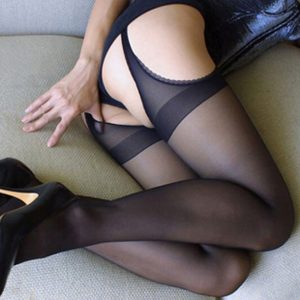Sexy Open Crotch Tights
