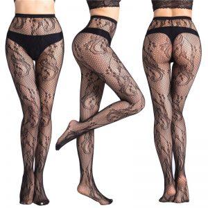 Stockings Mesh Tattoos Jacquard