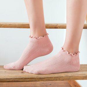 Bamboo Ruffles Socks Cotton