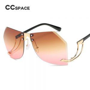 Irregular Frameless Sunglasses