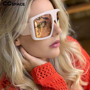 Oversized Goggle Sunglasses
